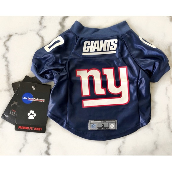 buy popular 43fe0 762da PET Jersey: NY Giants NFL Licensed in Small